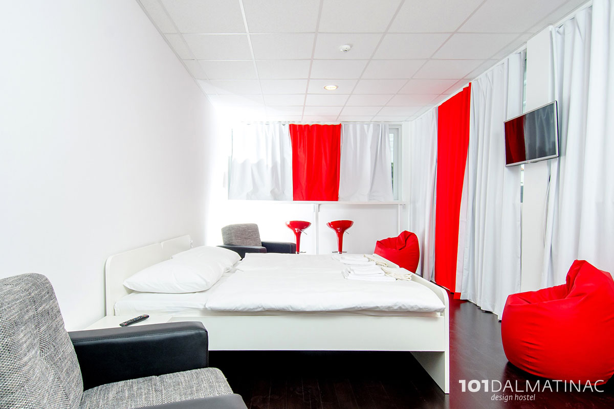 101 dalmatian design hostel split croatia for Design hostel 101 split
